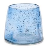 Blue Bubble Votive M